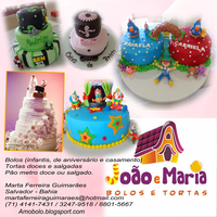 Cakes In Salvador - Bahia - Brazil This are some cakes that I maked.