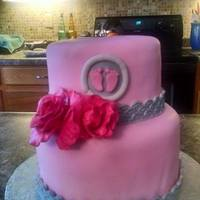 Baby Girl - Baby Shower Cake Baby Girl - Baby Shower Cake