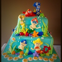 Bubble Guppies 1st Birthday
