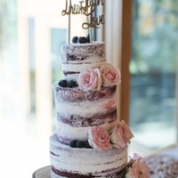 The Carlson Naked Wedding Cake Red Velvet Naked Wedding Cake