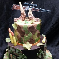 Hunting Cake hunting cake for two brothers