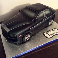 Rolls Royce Car Cake I finally feel like I'm starting to get a grasp on car cakes (of which I used to dread profusely, lol).