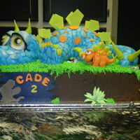 Dinosaur Cake   Dinosaur cake made for my nephew's birthday