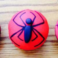 Spiderman Cupcakes Made these for my little man's birthday