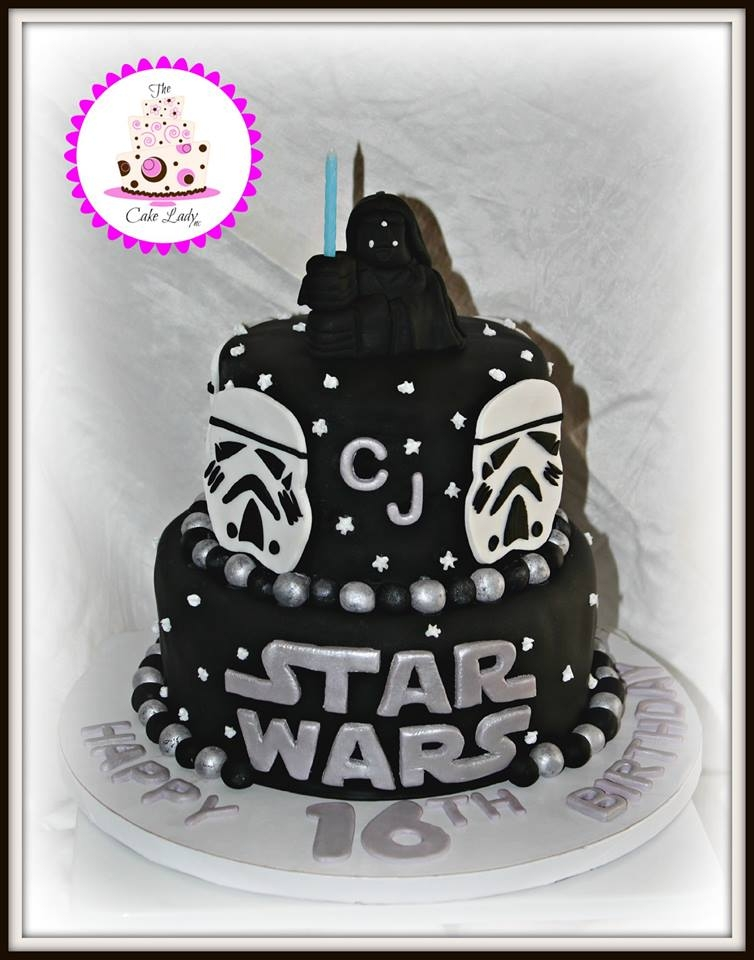 Star Wars   Star Wars themed Birthday Cake