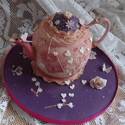 Vintage Tea Pot For Haven Charity