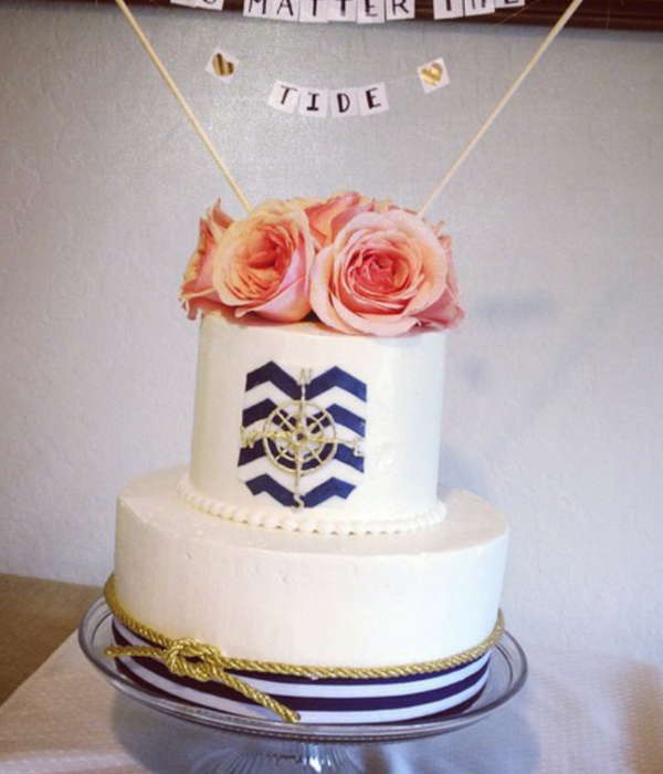 Nautical Themed Wedding Renewal