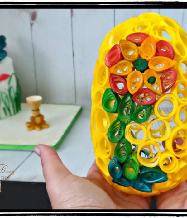Quilled Egg (50 Shades Of Easter)