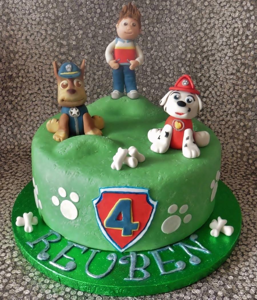 Paw Patrol Birthday Cake - CakeCentral.com