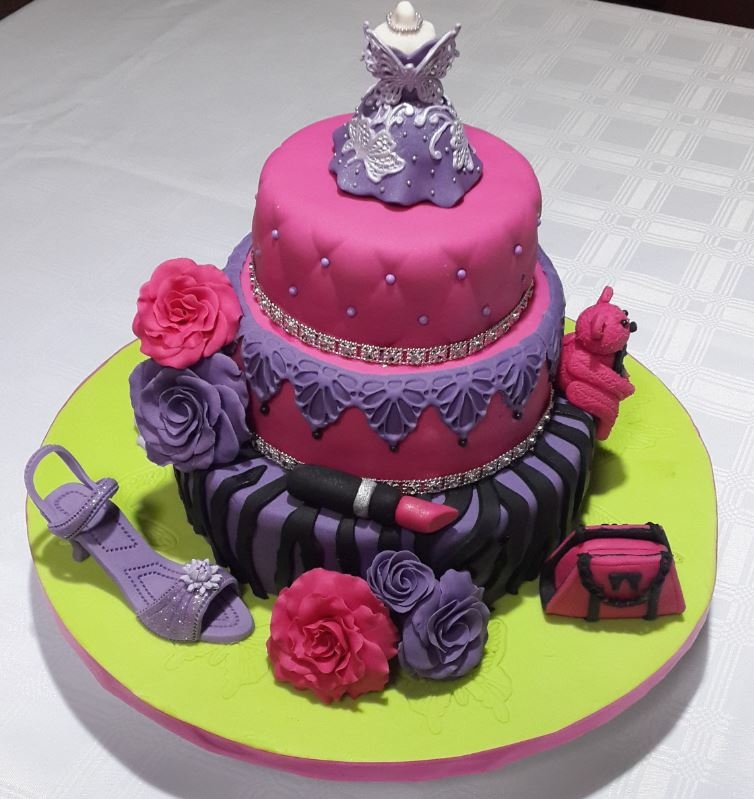 Girly Birthday Cake Cakecentral