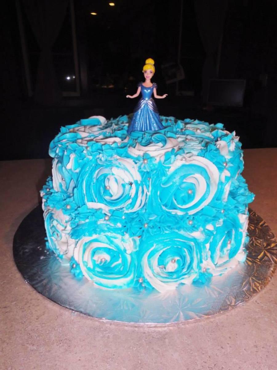 Simple Cinderella Cake CakeCentralcom