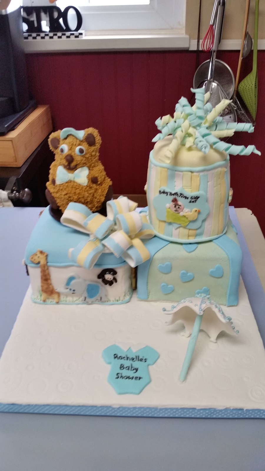 Baby Shower Cake For A Friend on Cake Central