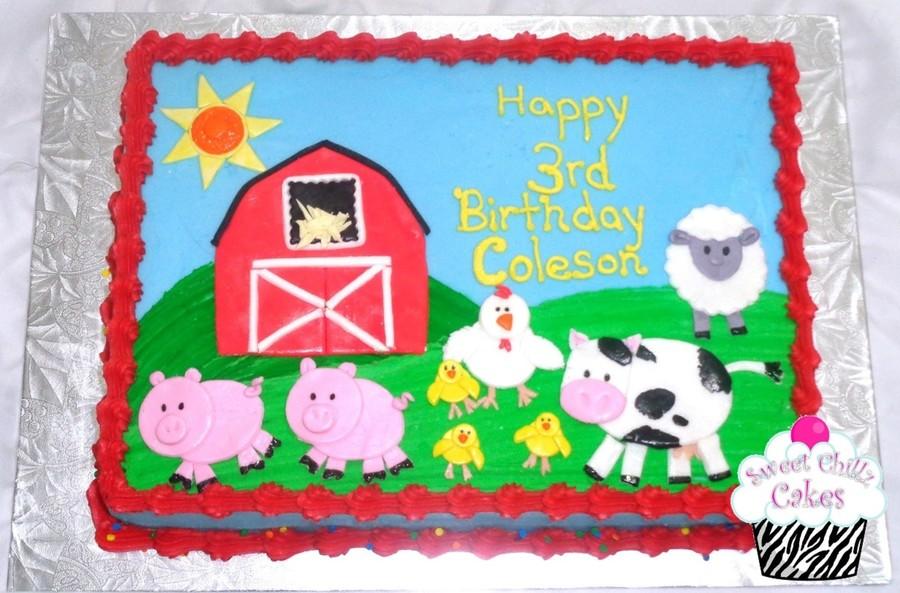 Farm Themed Cake Cakecentral Com