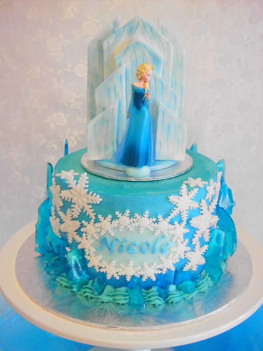 Frozen Castle Cakes Images