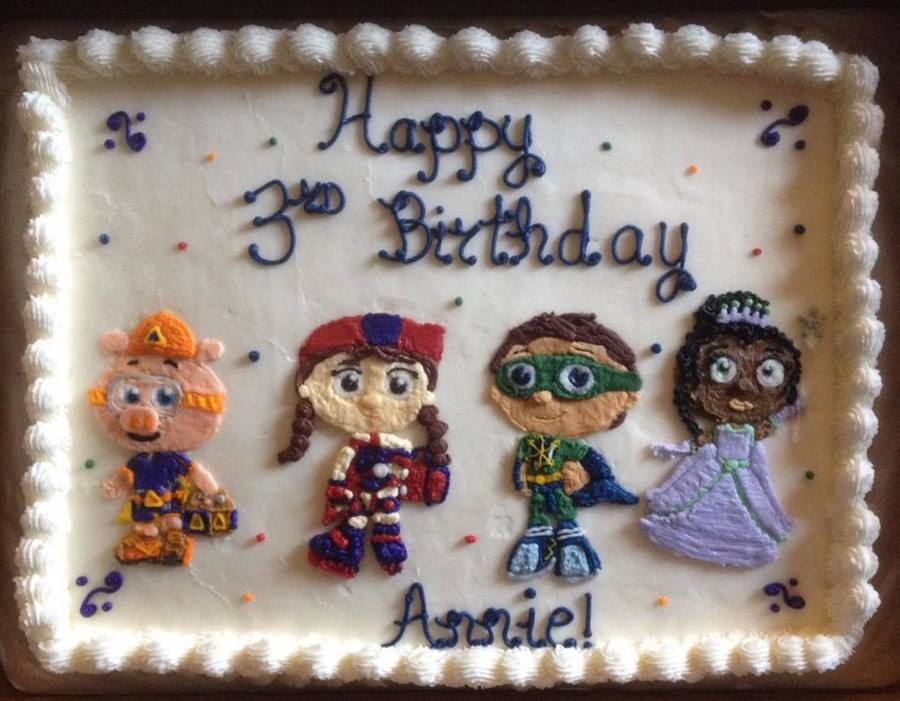Super Why Cake Cakecentral