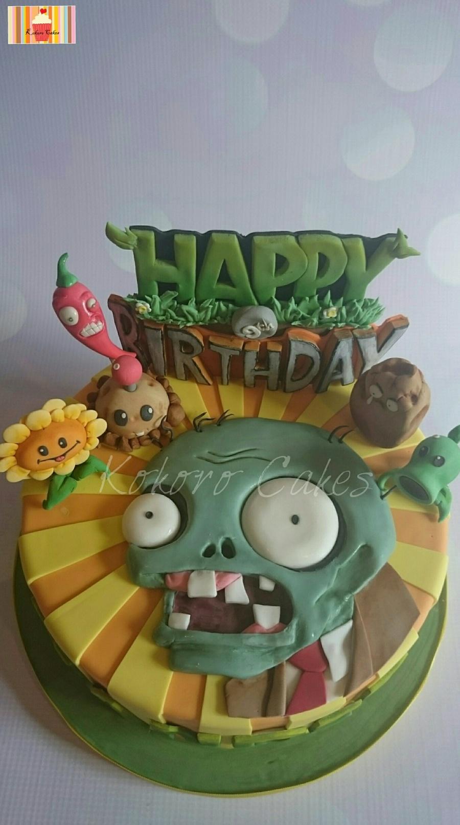 Plants Vs Zombies Cake Ideas