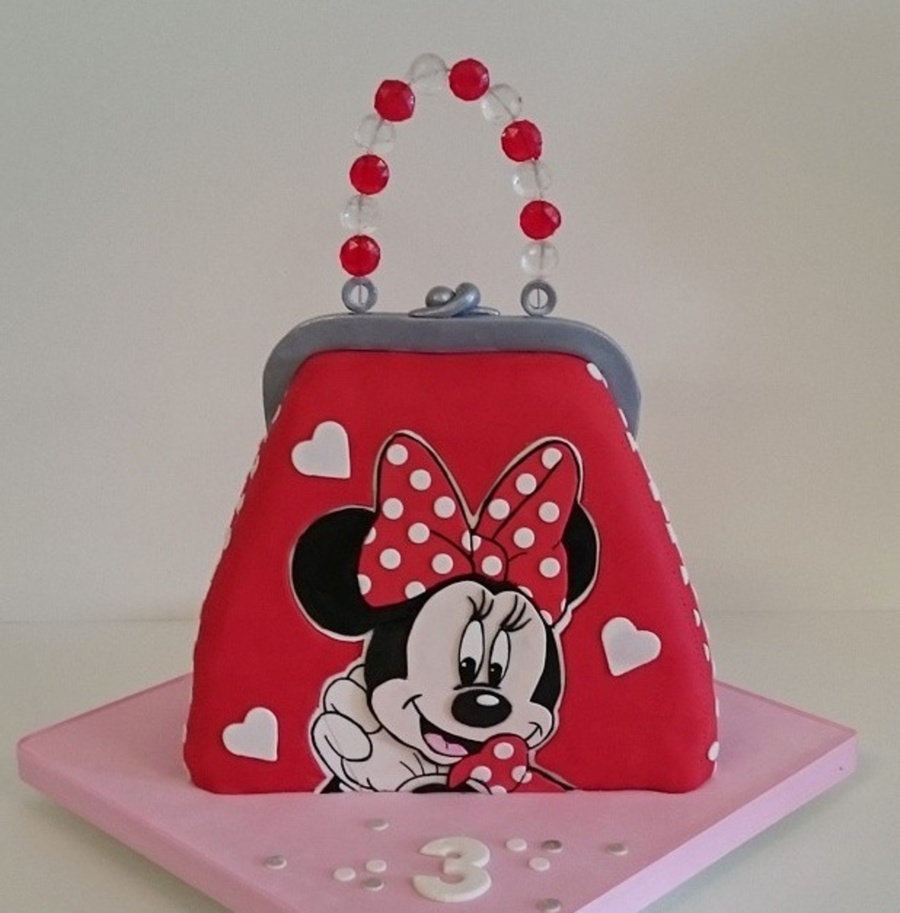 Minnie Mouse Purse on Cake Central