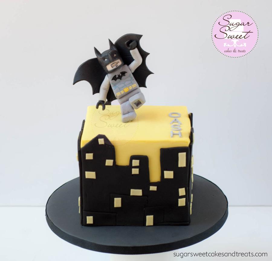 Lego Batman Mini Cake - CakeCentral.com