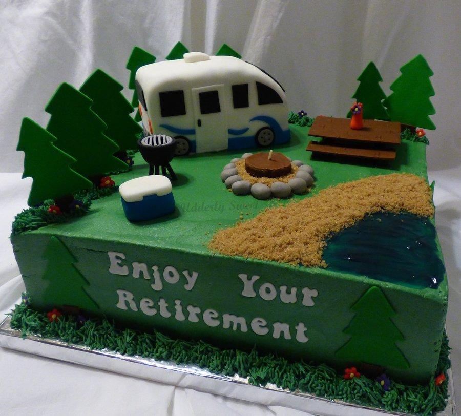 Retirement Cake Topper Decorations