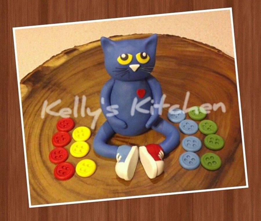 Pete The Cat Cake Topper Cakecentral Com