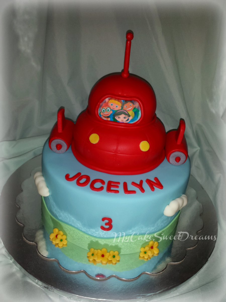 Surprising Little Einsteins Birthday Cake Cakecentral Com Funny Birthday Cards Online Inifofree Goldxyz