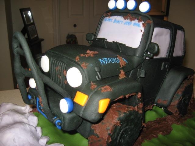 Jeep Wrangler Cake CakeCentralcom