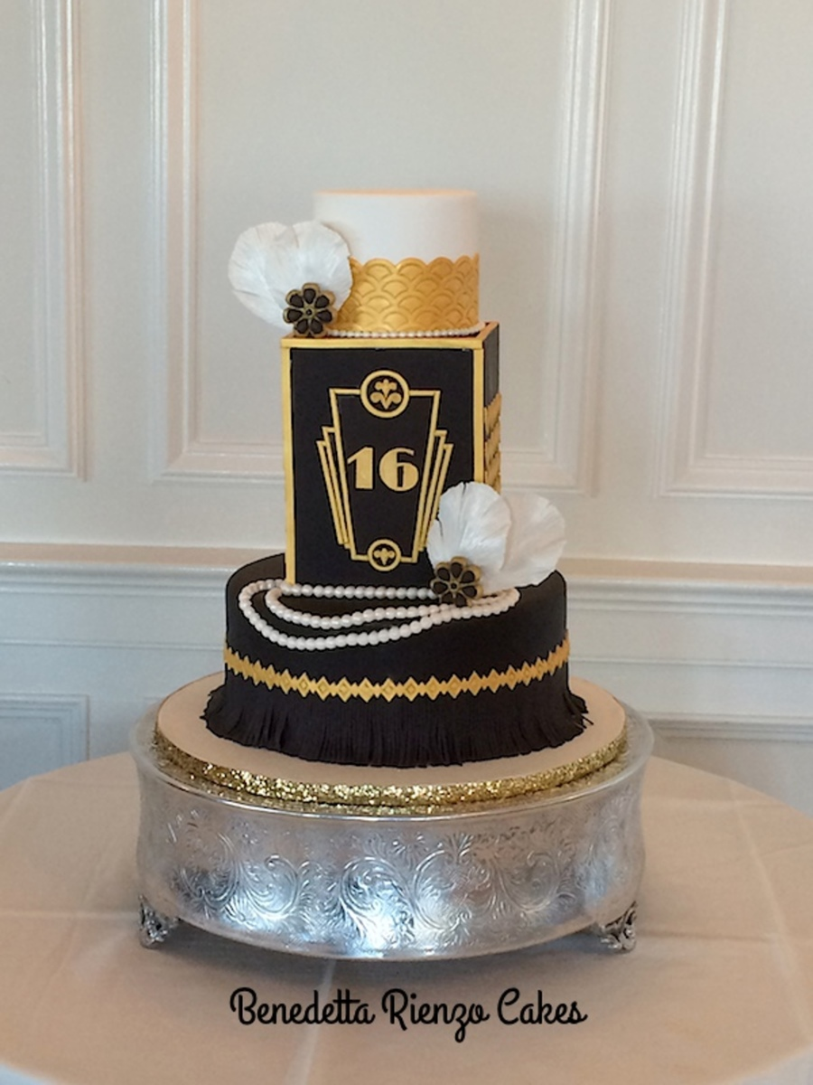 The Great Gatsby Sweet Sixteen Cake on Cake Central