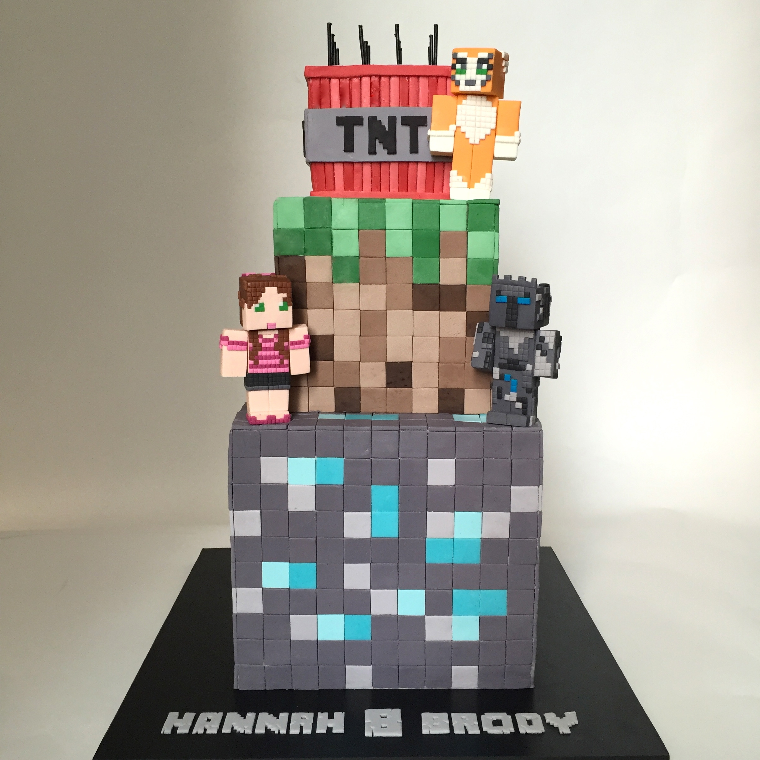 Minecraft Images For Birthday Cakes