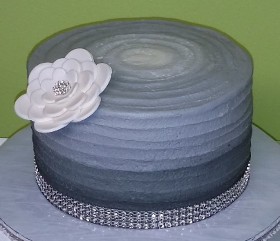 Ombre Cake on Cake Central