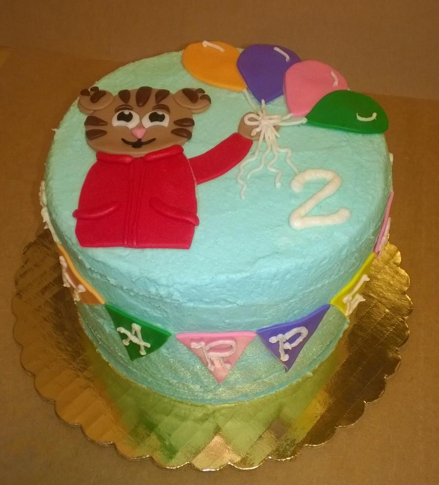Daniel Tiger Birthday Cakecentral