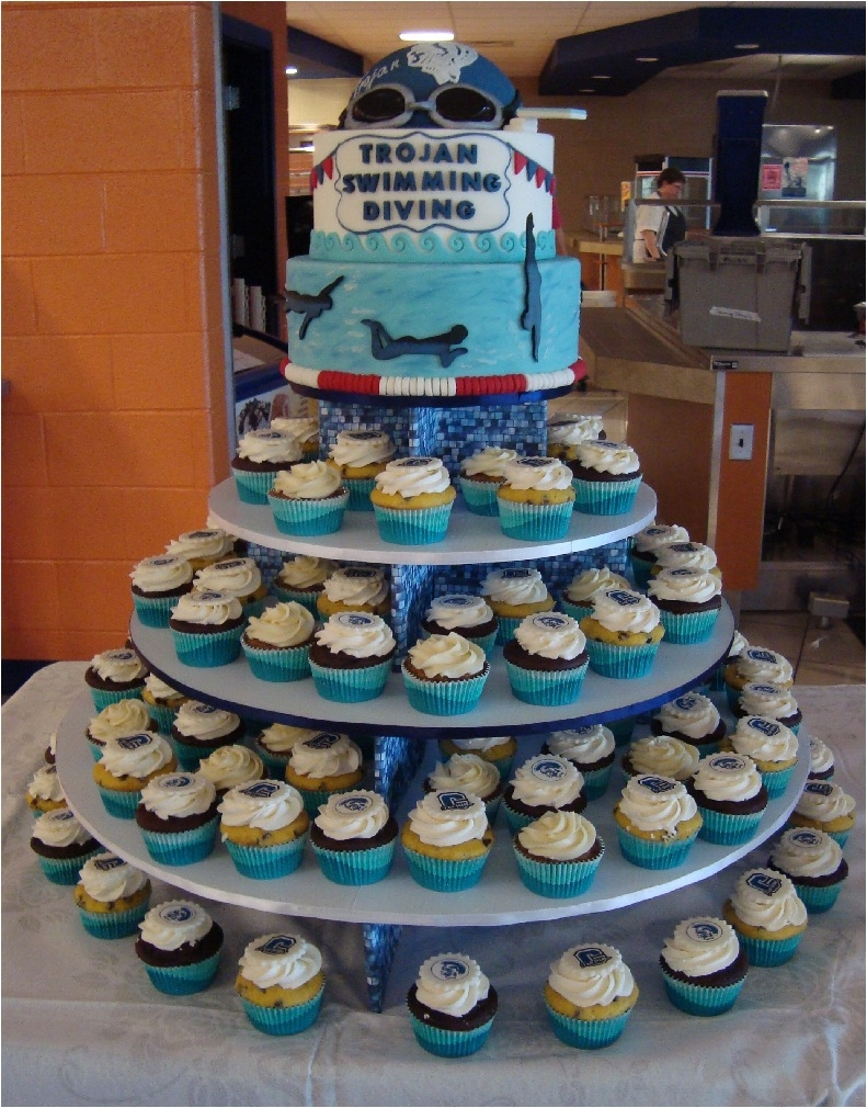 Swim Coach Cake Ideas
