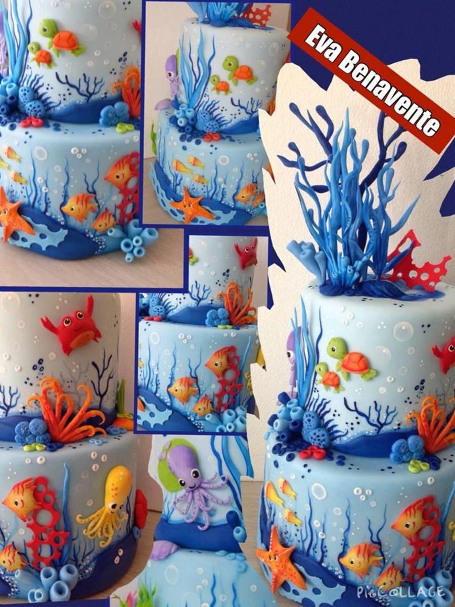 Under The Sea Cake - CakeCentral.com