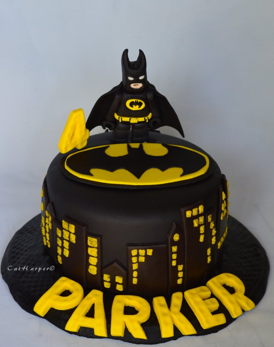 batman birthday cakes