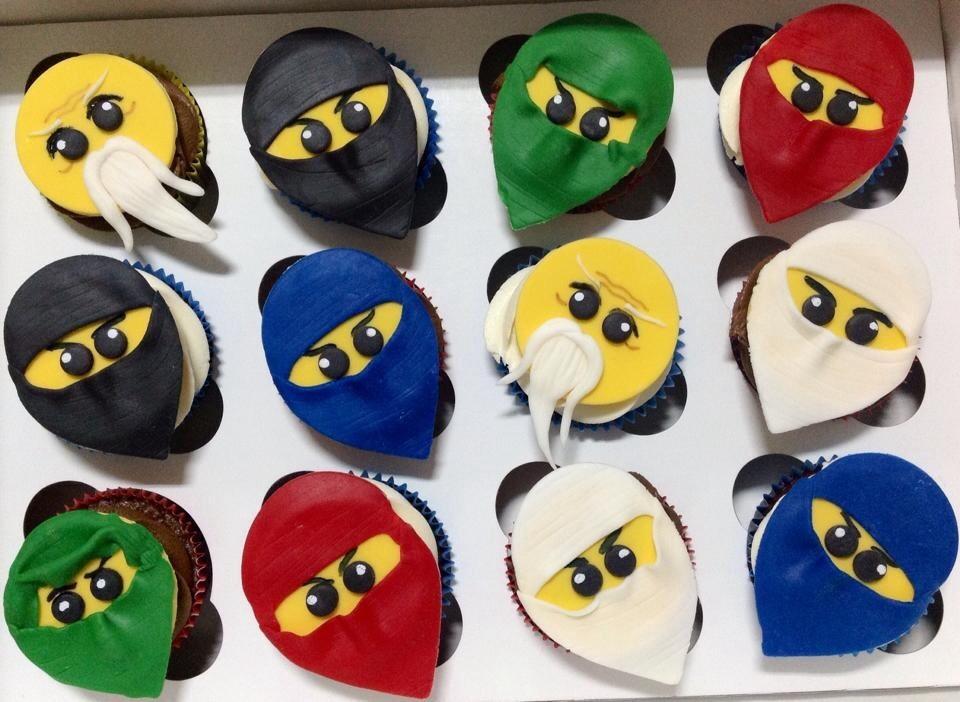 8Th Birthday Lego Ninjago Cupcakes - CakeCentral com