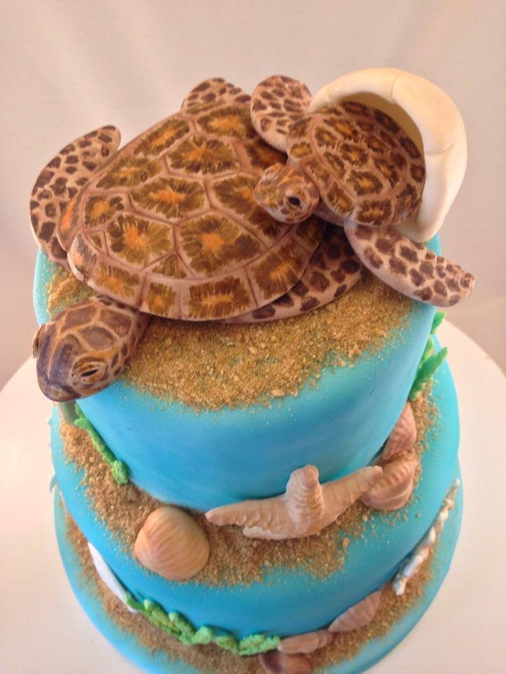 Sea Turtle Baby Shower Cake Cakecentral