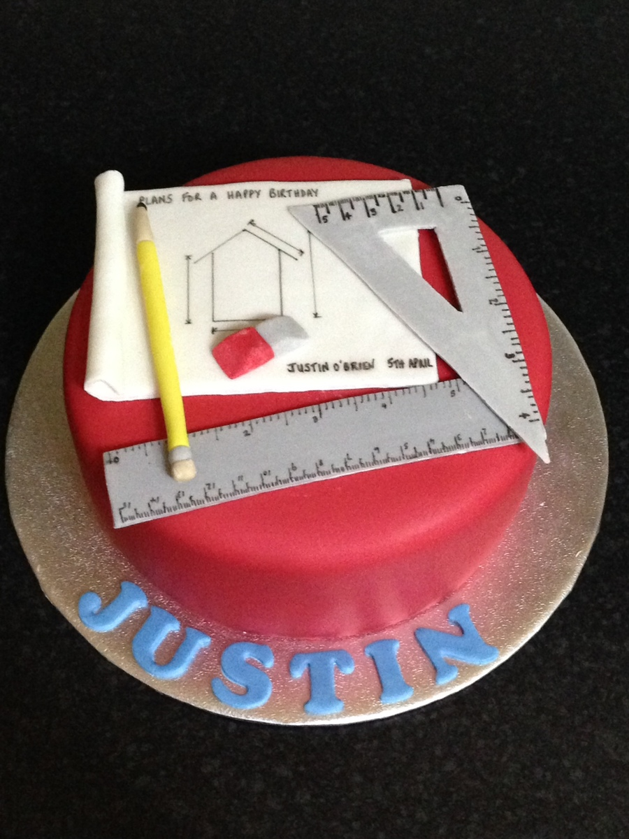 S Themed Birthday Cake For A Man