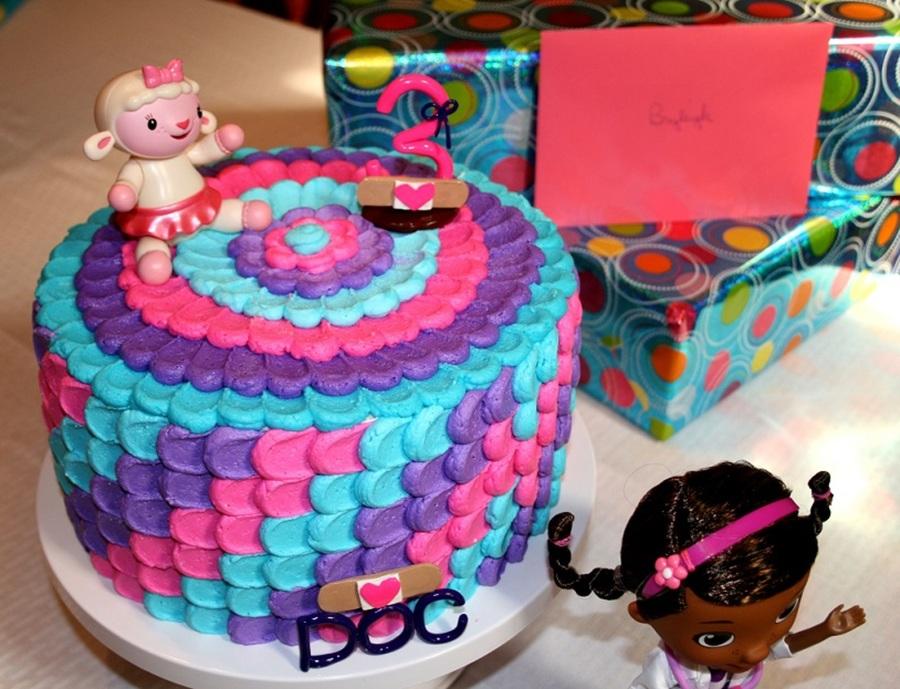 Doc Mcstuffins Birthday Cake Decorations