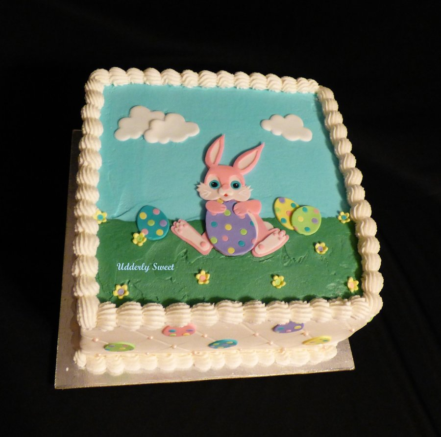 Happy Easter! on Cake Central