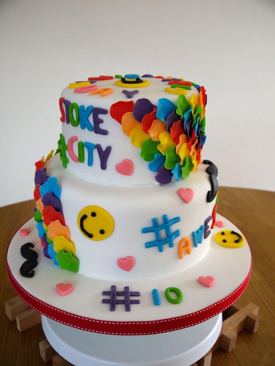 Emoji Birthday Cake Ideas