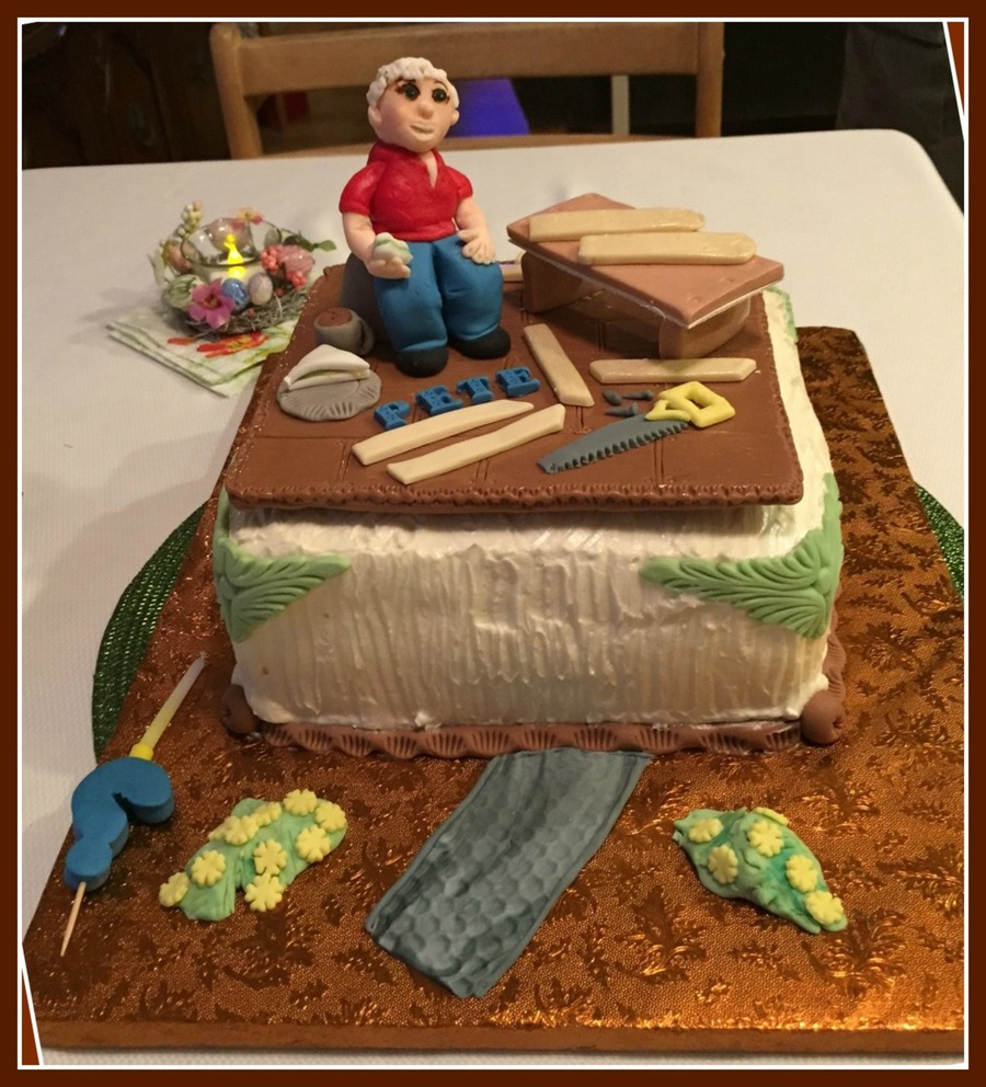 Handy Man Cake on Cake Central
