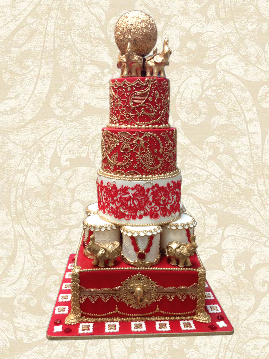 wedding cake indian indian inspired wedding cake cakecentral 22967