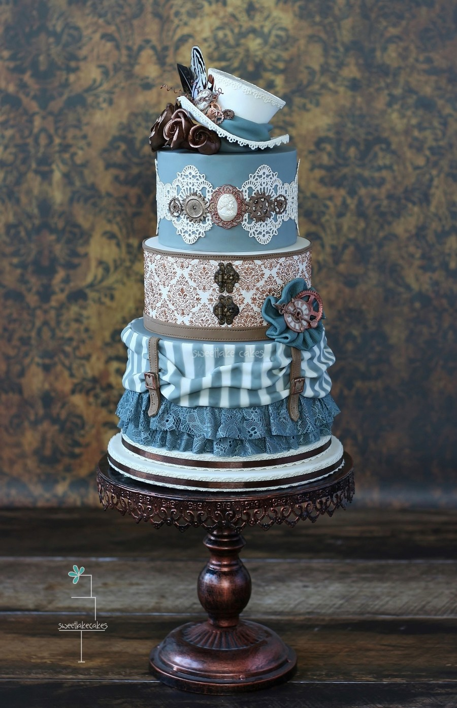 Steampunk Wedding Cake Cakecentral Com
