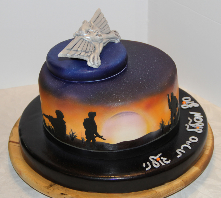 Soldiers In The Sunset Cakecentral Com