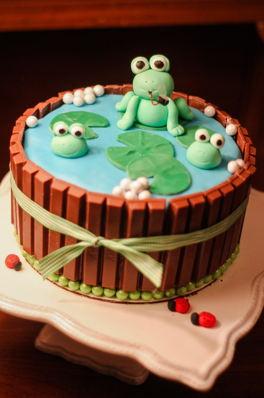 Frogs In The Pond - CakeCentral.com