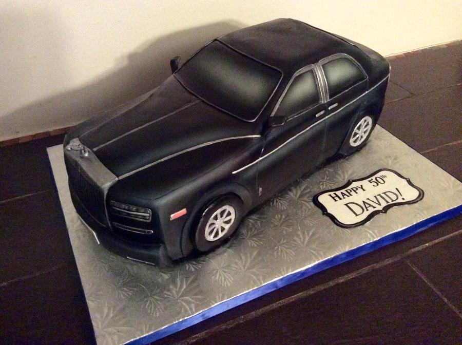 Rolls Royce Car Cake Cakecentral Com
