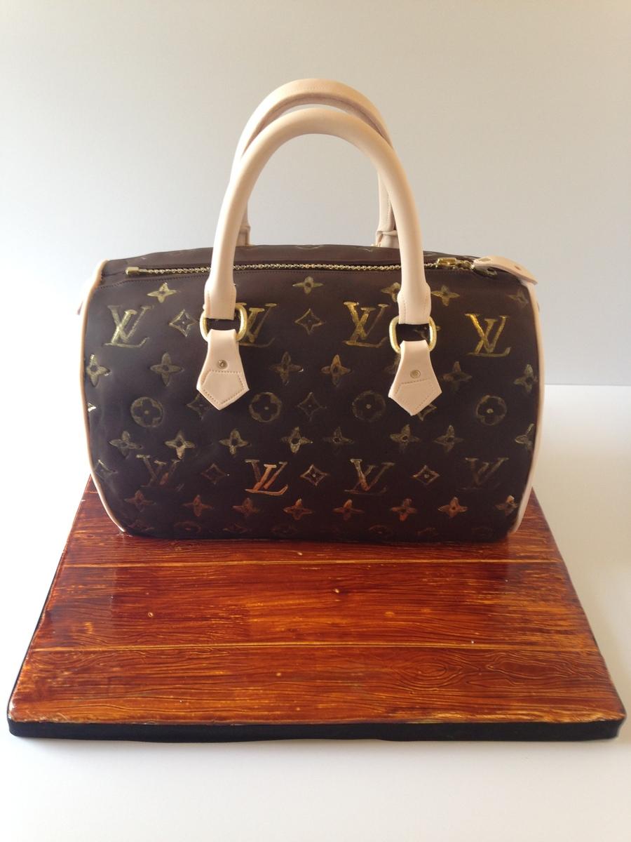 Louis Vuitton Purse Cake Cakecentral Com