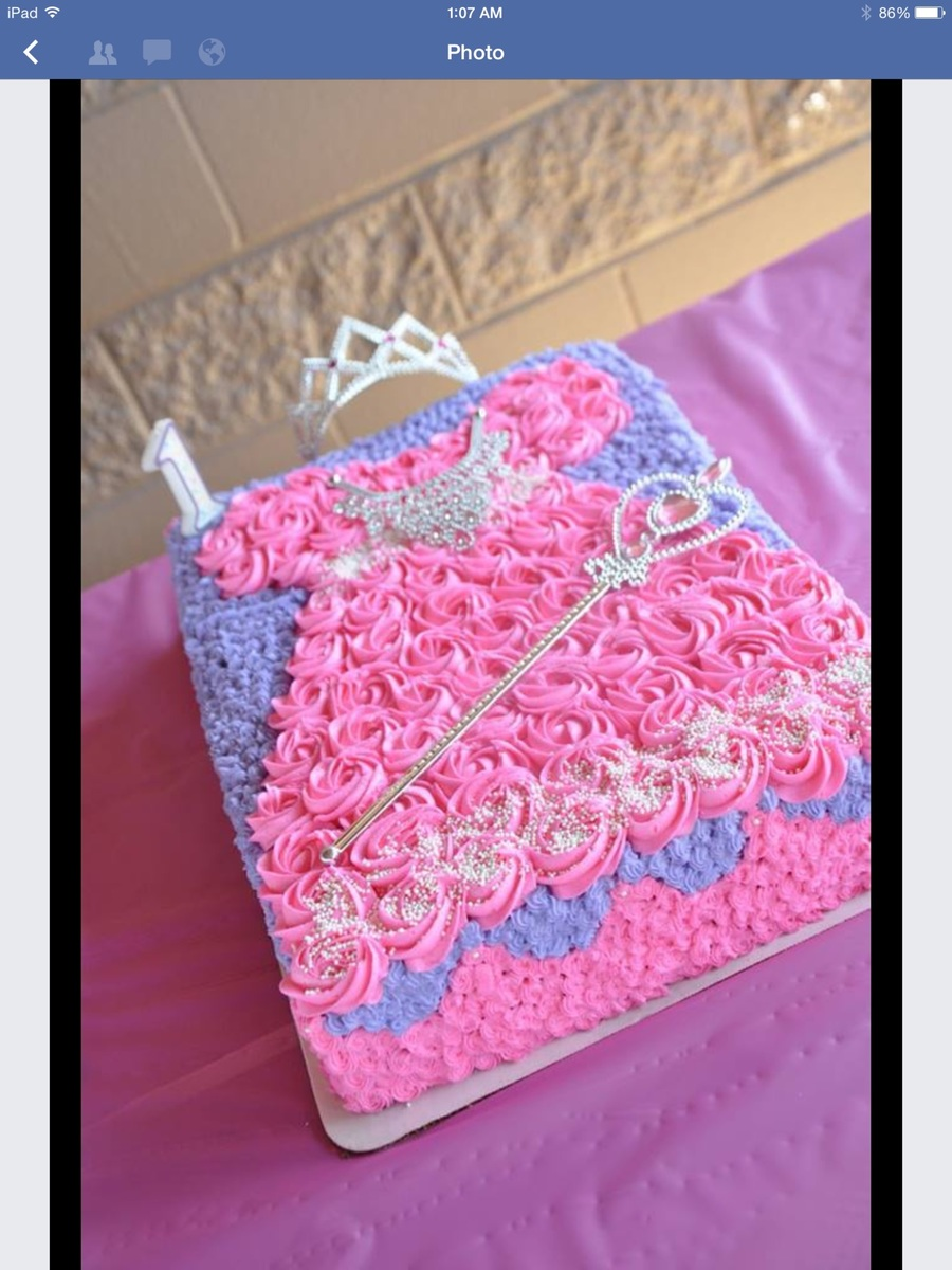 Princess Sheet Cake Cakecentral Com