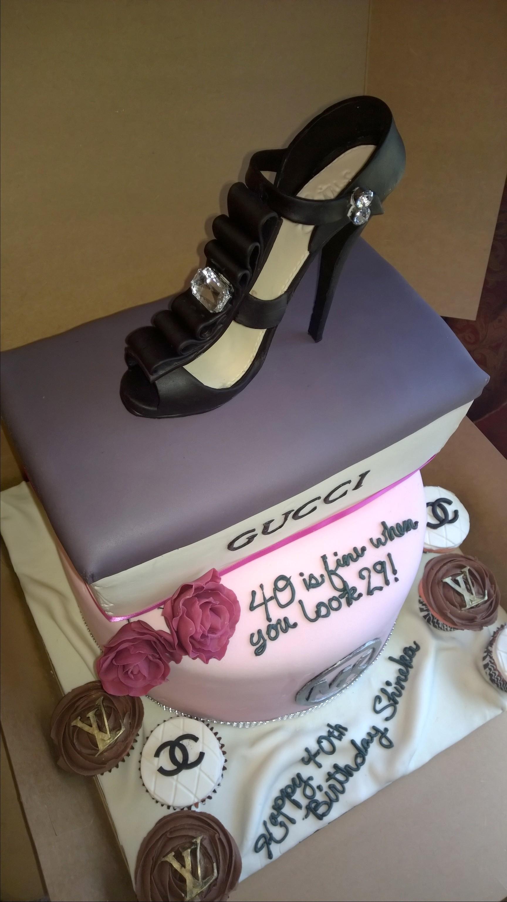 High Heel Shoe Cake Topper Cakecentral Com
