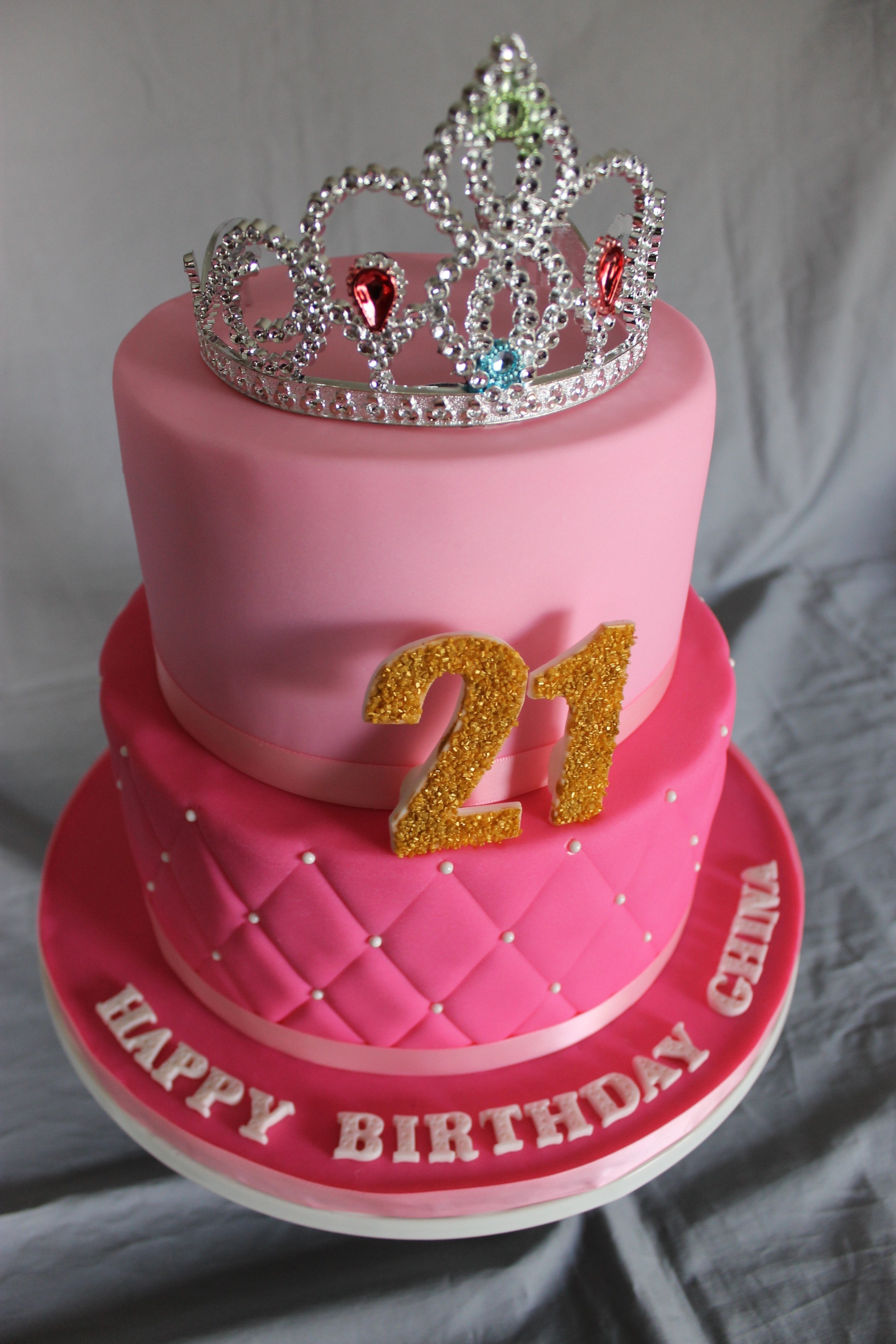 Pink Birthday Cake Cakecentral Com