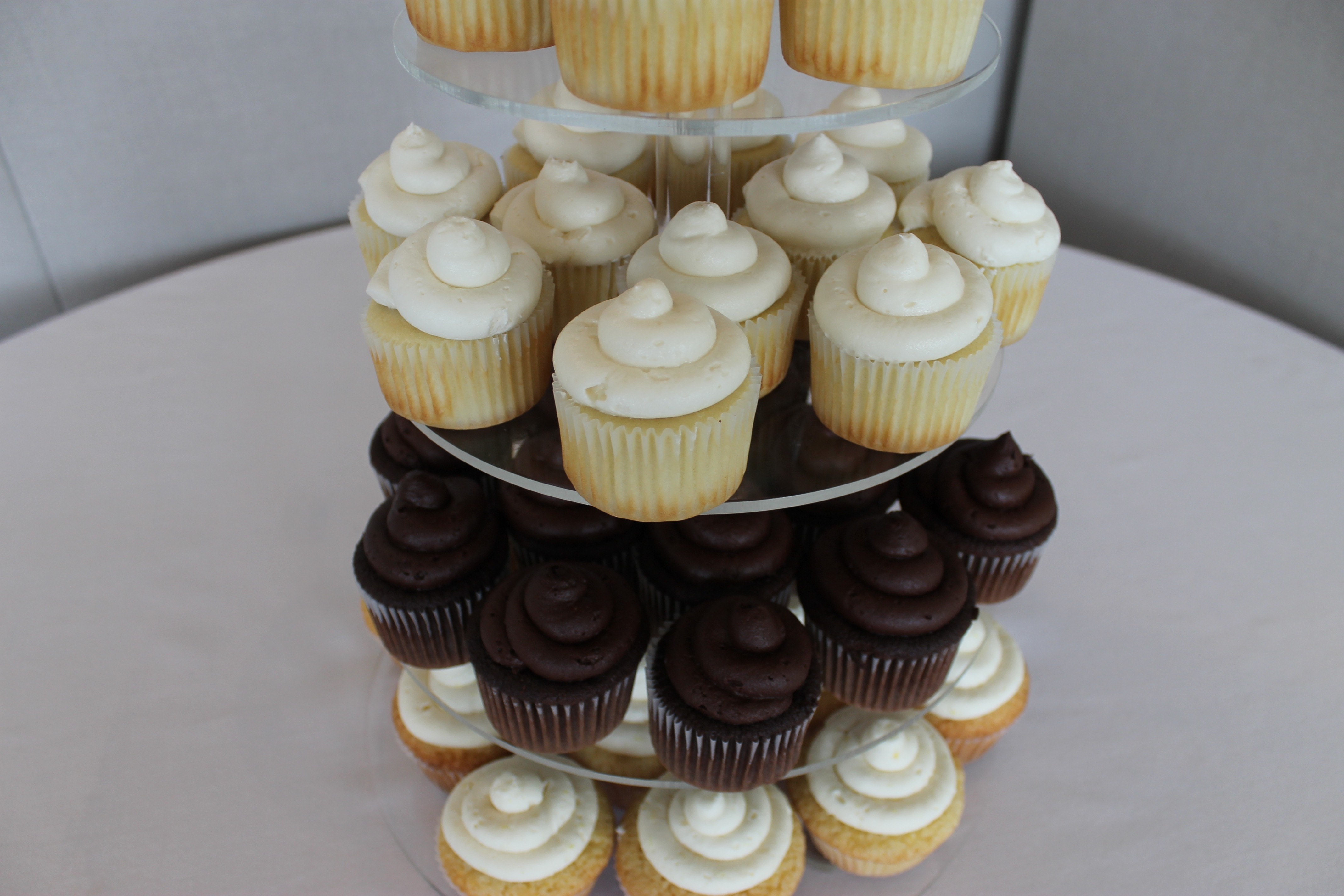 Wedding Cake Cupcakes CakeCentral